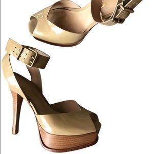 Stylist Nude Platform Heel